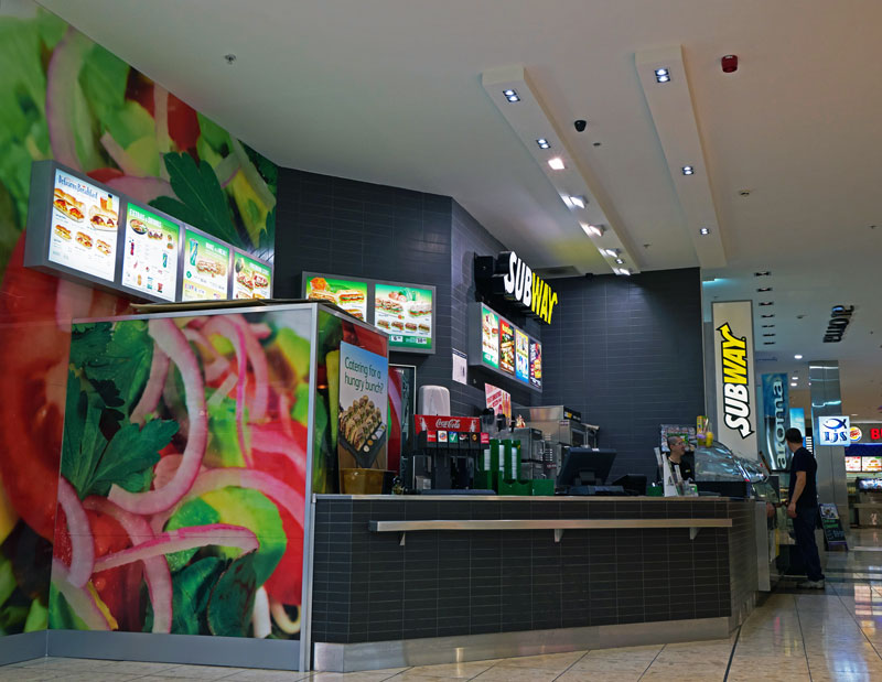 Subway Store shop fit by Arch Construction